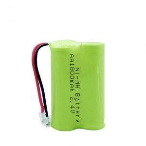 Dobíjecí baterie NiMH AA1800 mAh 2,4 V