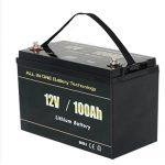 ALL IN ONE Nejbezpečnější solární lithium-iontová baterie RV 12v 100ah LiFePO4