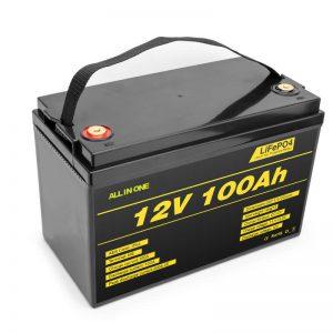 LiFePO4 Akumulátor lithiová baterie 12v 100ah baterie s hlubokým cyklem