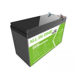 Vyměňte olověnou kyselinovou baterii 12 V 10 Ah lithium-iontovou baterii pro malý sklad energie