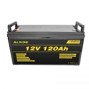 Lithium-iontová baterie Lifepo4 BMS 12v 120ah Lithium-iontová baterie Lifepo4 12v