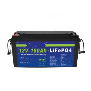 LiFePO4 Lithium Battery 12V 180Ah for Solar Energy Storage Systems for Electric Bicycles