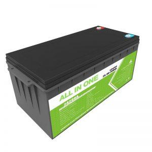 Dobíjecí záložní baterie s dlouhou životností 12,8 V 200 Ah LiFePO4 baterie pro golfový vozík