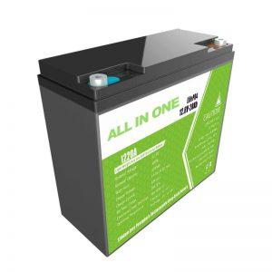 ALL IN ONE 12.8V20Ah náhradní olověná lithiová baterie