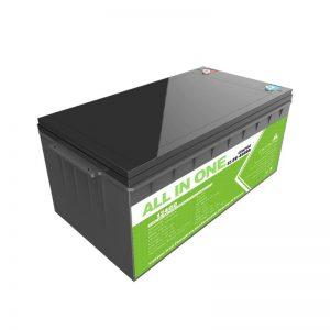 Vysokokapacitní akumulátor s hlubokým cyklem 12,8 V, 400 Ah, lithium-iontová baterie Lifepo4