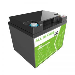 Tovární cena 12,8 V 40 Ah náhrada olověné kyseliny pro skladování energie pro domácí spotřebiče