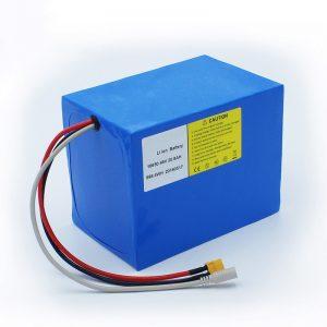 Lithiová baterie 18650 48V 20,8AH pro elektrická kola a sada kol