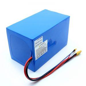 Lithium Baterie 18650 48V 51.2AH 24v 30V 60V 15ah 20Ah 50Ah Li-ion baterie 18650 48V Lithium ion baterie pro elektrický skútr
