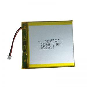 3,7 V 2200 mAh polymerní lithiové baterie pro inteligentní domácí zařízení