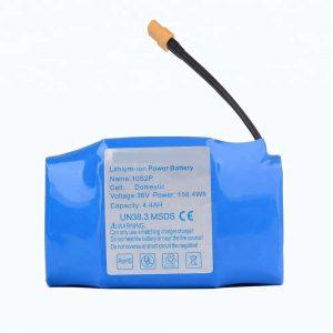 Nejprodávanější lithiová baterie s hoverboardem 36v 4400mah 10s2p