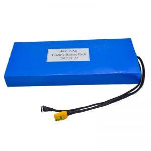 Velkoobchod 15Ah 48V lithiová baterie pro elektrický skútr