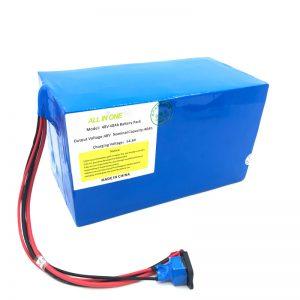 Přizpůsobená lithiová baterie 18650 48V 40Ah pro elektrické kolo, elektrický člun a elektrický skútr