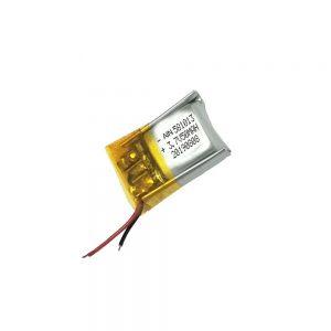 Vysoce kvalitní lithium-polymerová baterie 3.7V 50mAh 581013 baterie