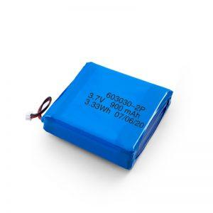 Vlastní dobíjecí 3,7 V baterie 450 530 550 700 750 800 900 mAh Li-Po Lipo