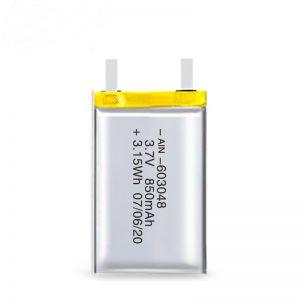 LiPO dobíjecí baterie 603048 3,7 V 850 mAh / 3,7 V 1700 mAh / 7,4 V 850 mA