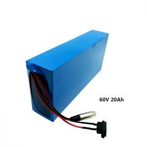 Přizpůsobená dobíjecí baterie 60v 20ah EV baterie lithiová