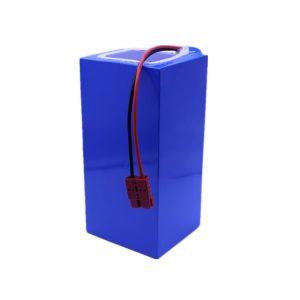 Lithium-iontová baterie 60v 40ah lithiová baterie 18650-2500mah 16S16P pro elektrický skútr / e-bike