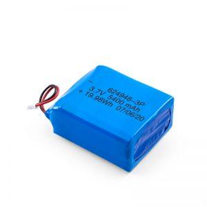 Dobíjecí baterie LiPO 624948 3,7 V 1800 mAH / 3,7 V 5400 mAH