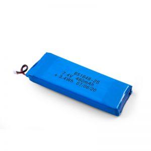 Dobíjecí baterie LiPO 651648 3,7 V 460 mAh / 3,7 V 920 mAh / 7,4 V 460 mAh