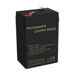 Cheap Deep Cycle 6V 6Ah LiFePO4 Lithium Battery for Solar Energy Storage Systems