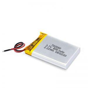 Čína Velkoobchod 3,7 V 600 mAh 650 mAh lithium-polymerová lithiová baterie dobíjecí baterie pro autíčko