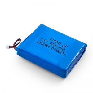 Vlastní 3,7 V 2450 2600 3900 4000 4500 4700 5000 6000 9000 mAh polymerová lipo baterie