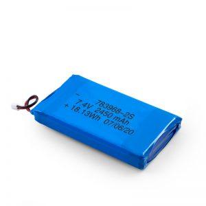 Dobíjecí baterie LiPO 783968 3,7 V 4900 mAh / 7,4 V 2450 mAh / 3,7 V 2450 mAh /