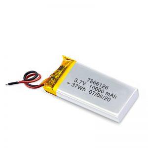 LiPO dobíjecí baterie 7866120 3,7 V 10 000 mAh / 3,7 V 2 200 000 mAh / 7,4 V 10 000 mAh