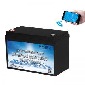 Nízkoteplotní LiFePO4 baterie 12V 100AH