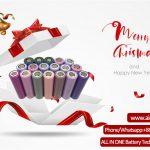 Veselé pozdravy Christams od společnosti ALL IN ONE Battery Technology Co Ltd.
