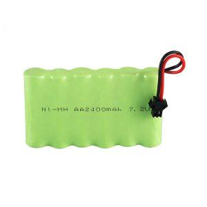 Dobíjecí baterie NiMH AA 2400 mAh 7,2 V