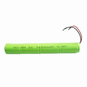 Dobíjecí baterie NiMH SC 3600mAH 4,8 V