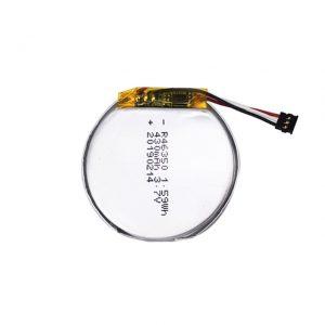 LiPO přizpůsobená baterie 46350 3,7 V 350mAH chytré hodinky baterie 46350 malá plochá kulatá lithium polymerová baterie pro hračky