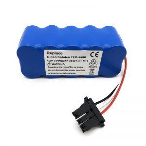 12v Ni-MH baterie pro vysavač TEC-5500, TEC-5521, TEC-5531, TEC-7621, TEC-7631